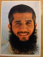 Fayiz Al-Kandari, in a photo taken at Guantánamo by the International Committee of the Red Cross in 2009.