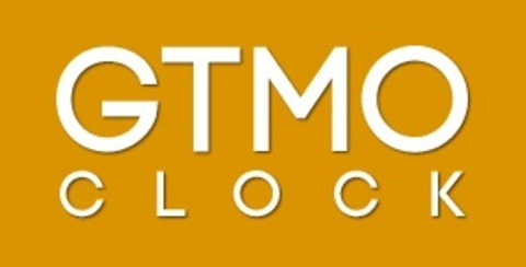 The logo for the GTMO Clock