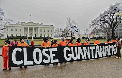 Close Guantanamo protest