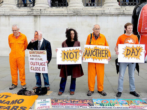 The global day of action on Guantanamo, May 23, 2014.