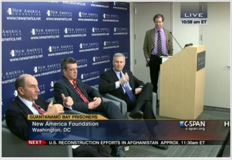 Panel discussion at New America, January 2013.