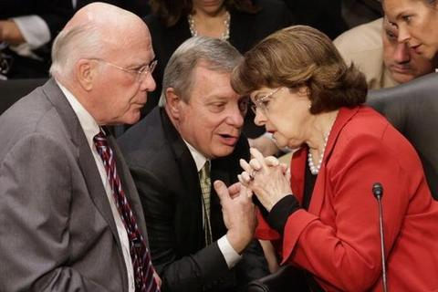Senators Leahy, Durbin and Feinstein.