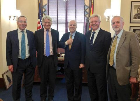 MPs meet John McCain